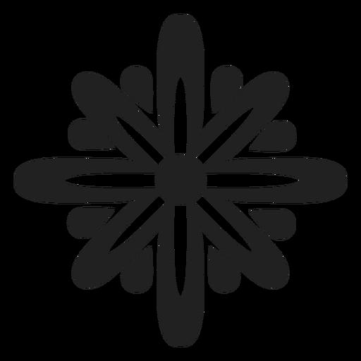 Star flower vector Transparent PNG