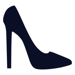 Stilletto shoes silhouette