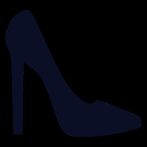 Silhueta de sapatos Stilletto Transparent PNG