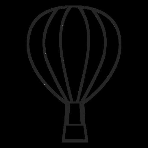 Ícone de balão de ar de acidente vascular cerebral Transparent PNG