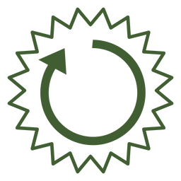 Sun cycle icon