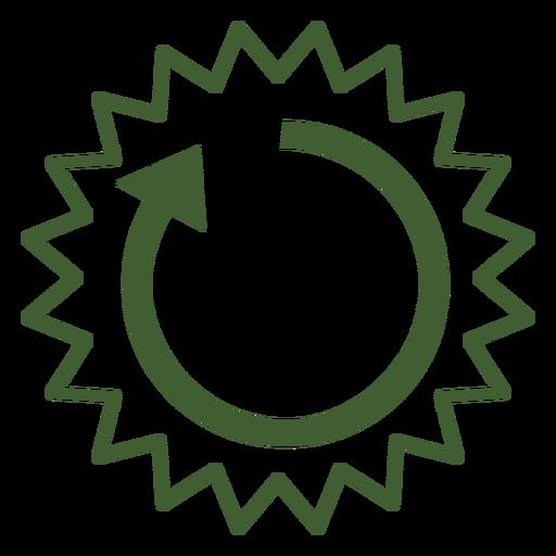 Icono del ciclo solar