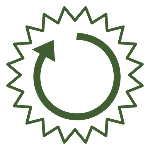Sun cycle icon Transparent PNG