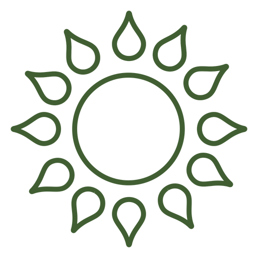 Sol estrella icono sol Transparent PNG