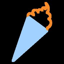 Icono de estilo de línea de Sundae