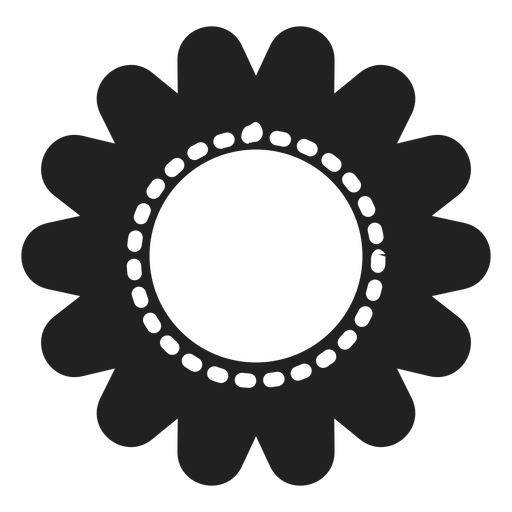 Sunflower flower icon Transparent PNG