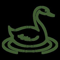 Ícone da cisne