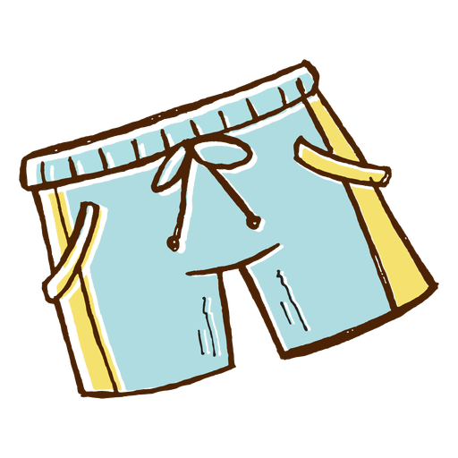 Swimming shorts icon Transparent PNG
