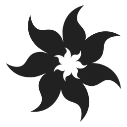 Tahitian tiare ícone de flor de espuma