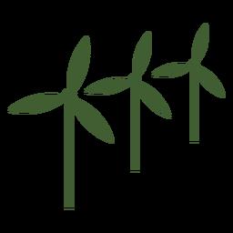 Ícone de três moinhos de vento