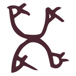 Traditional egyptian hieroglyph symbol