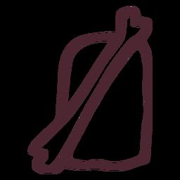 Símbolo jeroglífico tradicional