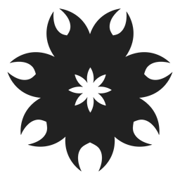 Tropical exotic flower icon