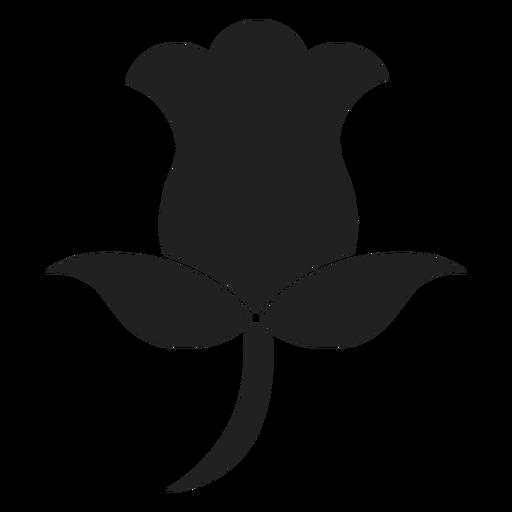 Icono de flor de tulipán Transparent PNG