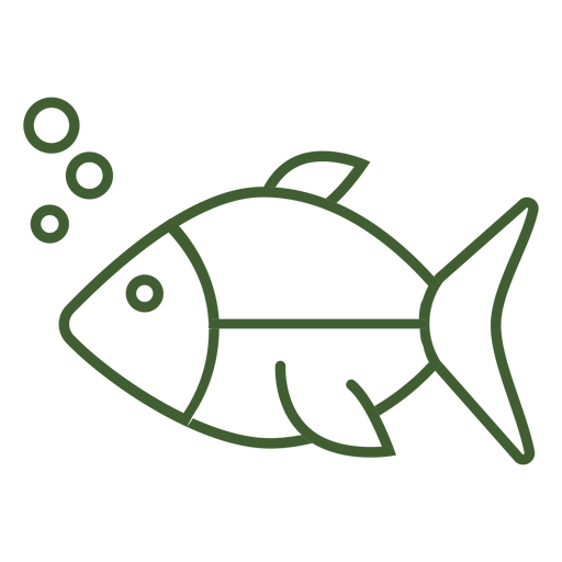 Underwater fish icon Transparent PNG