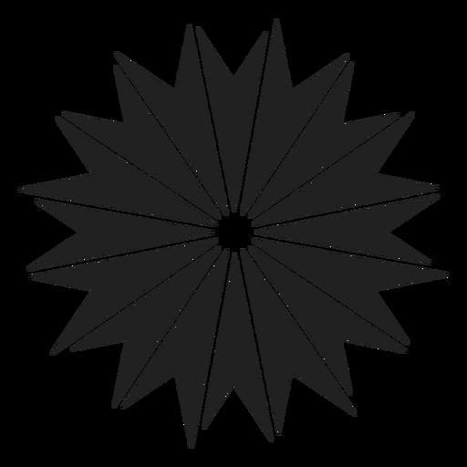 Einzigartiges Blumen-Symbol Transparent PNG