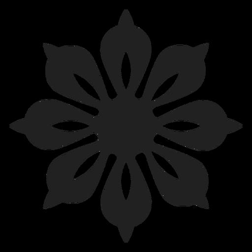 Einzigartige Blütenblatt Blume Symbol Transparent PNG