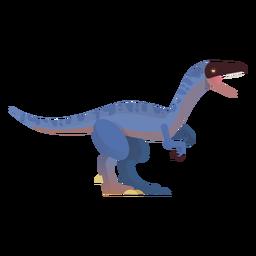 Velociraptor vector de dinosaurio