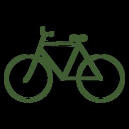 Bicicleta de icono de bicicleta vintage