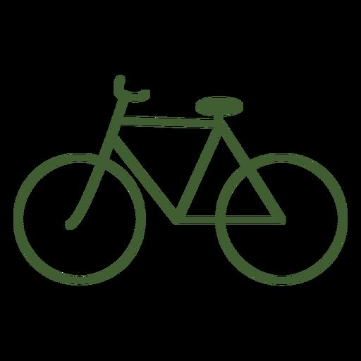 Vintage bicycle icon bike Transparent PNG
