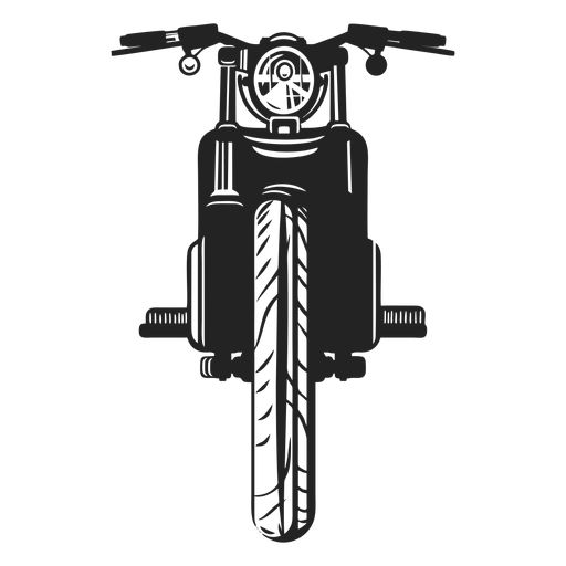 Vintage motorbike icon Transparent PNG