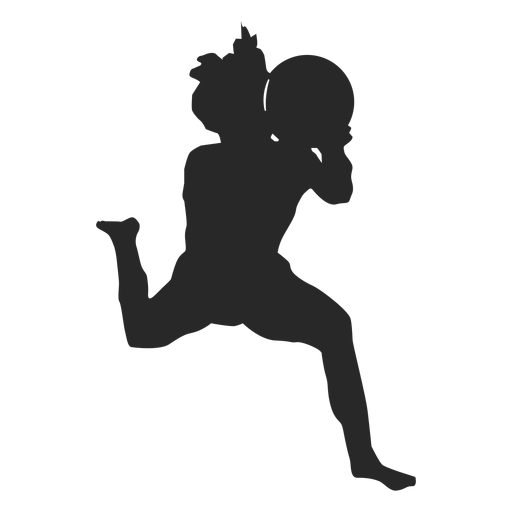Volleyball game position silhouette volleyball Transparent PNG