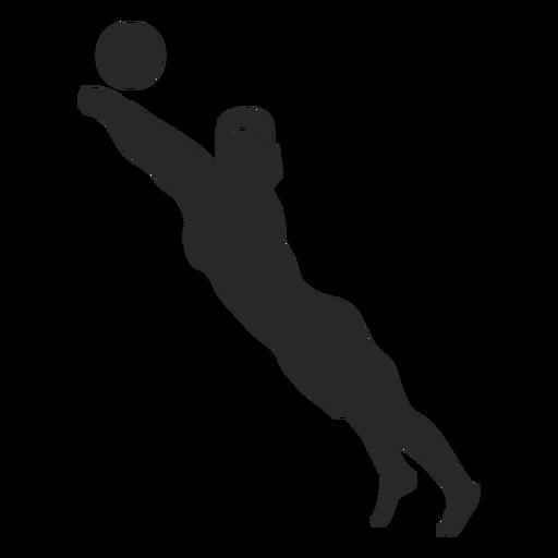 Jogador de voleibol salvar posição Transparent PNG