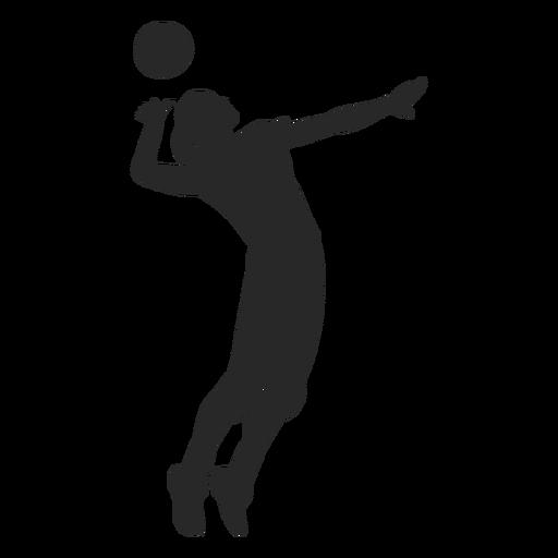 Posição de pico de voleibol