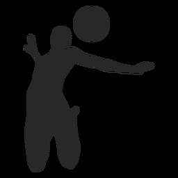 Posicionamiento de voleibol