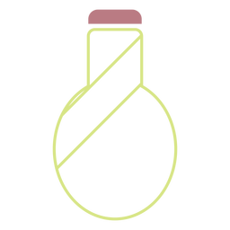Wasserflasche Linie Stilikone