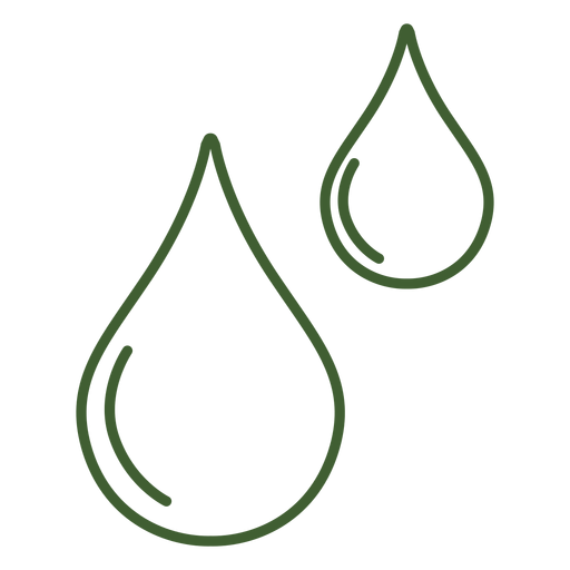 Water drops icon Transparent PNG