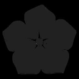 Wasserblumenvektor