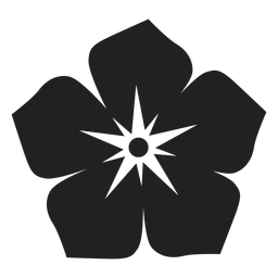 Water flower vector