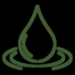 Icono de gota de agua