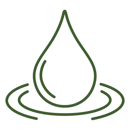 Water drop icon Transparent PNG
