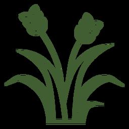 Icono de hierba de trigo