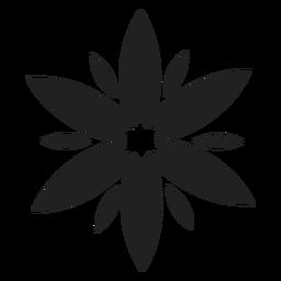 Vetor de flor selvagem cocumber