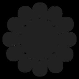 Wild flower icon