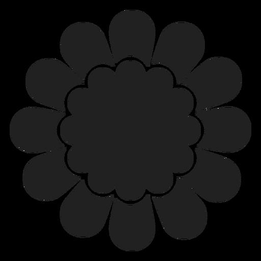 Wilde Blume Symbol Transparent PNG