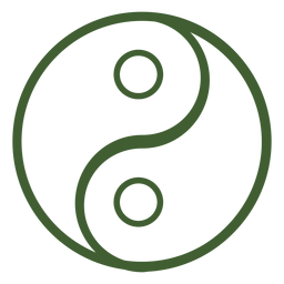 Icono de yin y yang