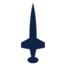 Ícone de silhueta de vista superior do avião