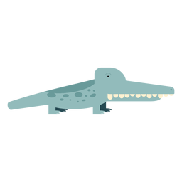 Aligator crocodile illustration