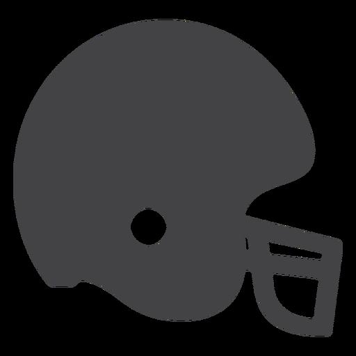 Icono plano del timón de fútbol americano Transparent PNG