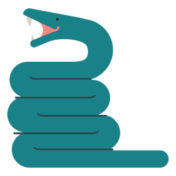 Anaconda-Schlangenabbildung