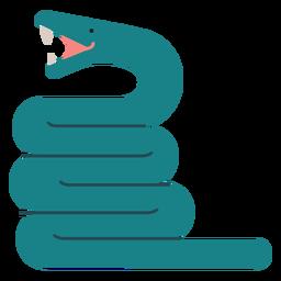 Ilustração de cobra Anaconda
