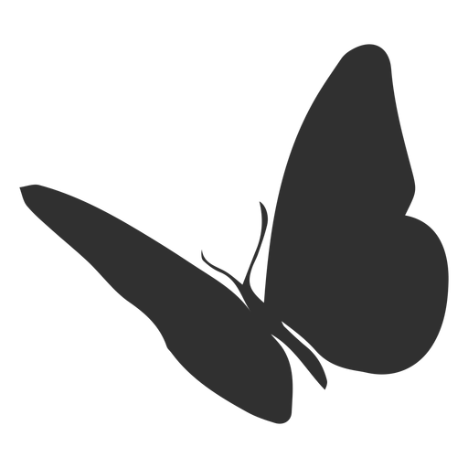 Animal butterfly silhouette Transparent PNG