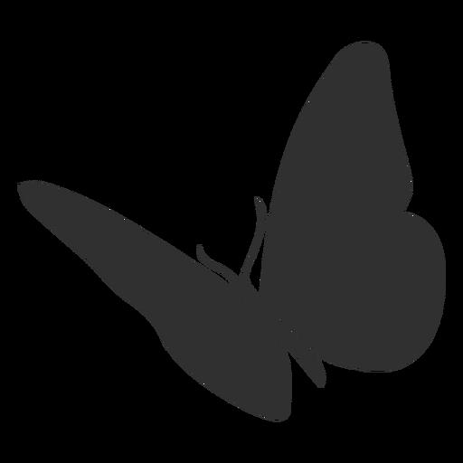 Silueta de mariposa animal Transparent PNG