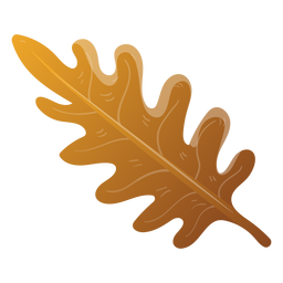 Ilustración de hoja de árbol de otoño