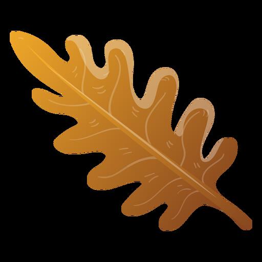 Ilustração de folha de árvore outono Transparent PNG