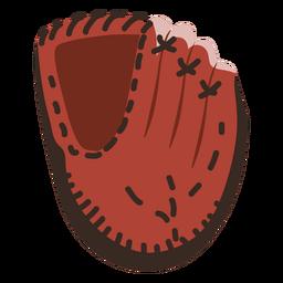 Icono de guante de béisbol Icono de béisbol